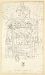 The Orchestra In Vauxhall Gardens, London, c.1832